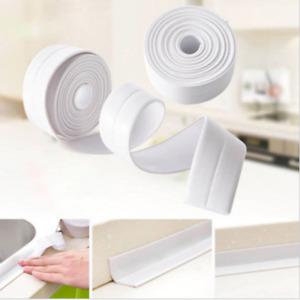 1 Roll Self Adhesive Sink Waterproof Tape Sealant for Bathroom Toilet #H10