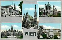 Postcard WIEN, VIENNA, VIENNE Posted 1956