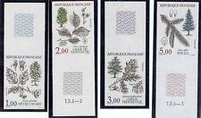 TIMBRES FRANCE Non Dentelés N°2384 à 2387, Les arbres, Série Flore,  neufs **.