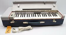 Vintage Hohner Organa 12 Organ Piano Keyboard Air Driven Portable W/ Lock Keys