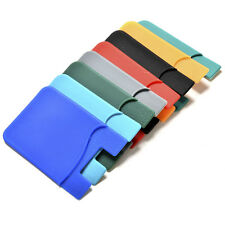 1x Silicone Wallet Sleeve Adhesive Credit Card/ID Holder for Universal Phone ESU