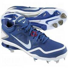 half off b41e7 0c7ac  80-Mens Nike Shox Gamer Blue White Baseball Low Metal Cleats Shoes-size 16