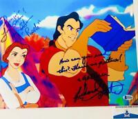 Paige O'Hara Richard White dual signed 11X14 photo Beauty Beast BAS COA W24642