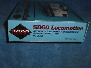 PROTO 2000 LIMITED EDITION HO SCALE #23487 SD60M DEMONSTRATOR EMD 4