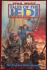 Star Wars: The Freedon Nadd Uprising (1997) Signed Trade Paperback - DHC