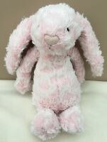 Jellycat Special Limited Edition Bashful Gigi Bunny Rabbit Soft Toy Baby Pink