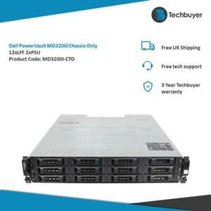 DELL POWERVAULT MD3200I CHASSIS 12 x LFF 2 x PSU