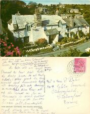 s07156 14th century cottages, Boscastle, Cornwall, England postcard posted 1972
