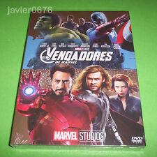 LOS VENGADORES DVD NUEVO Y PRECINTADO MARVEL STUDIOS SLIPCOVER
