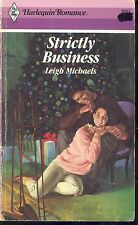 Strickly Business No. 2951 by Lee Michaels (1988, Harlequin/Paperback)