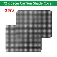 "2Pcs Auto Sun Shade Window Screen Cover Sunshade Protector Car Truck 28"" x 20"""