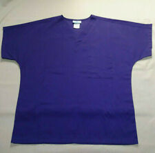 Purple unisex scrubs by Sb Scrubs scrub shirt top Euc Free Shipping 4 Charity