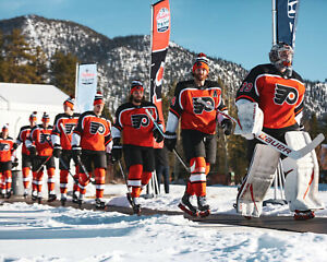 Philadelphia Flyers Lake Tahoe Outdoor Game 2021 - Unsigned 8x10 Photo