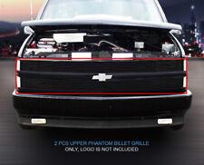Fits 94-99 Chevy Suburban Blazer Tahoe C/K Pickup Phantom Black Billet Grille