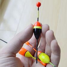 8PCS Mini Fin Fishing Lure Float Floatation Bobbers Slip Drift Tube Indicator FT