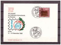 BRD SoU MiNr. 1065 SSt Essen - FIP-Kongress Essen 1980 Erstausgabetag 13.11.1980