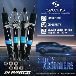 Front + Rear Sachs Shock Absorbers for Mercedes Benz R129 500SL Convertible