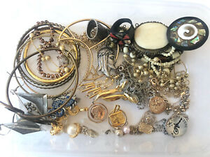 Costume Jewellery Lot- Necklaces, Bracelets, Earrings, Pendants, Vintage