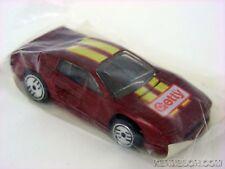 Ferrari Testarossa Getty Metallic Red Hot Wheels 1989 Gasoline Promotion Baggie