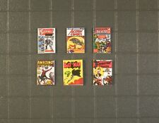1/18 Scale Comic Books - Marvel and DC Pack 2 - 6 Comics