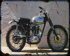 Bsa C15 05 A4 Metal Sign Motorbike Vintage Aged