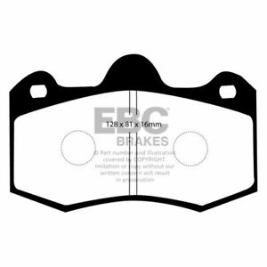 EBC DP5036NDX Rear Disc Brake Pad Set For 2012-2014 McLaren MP4-12C NEW