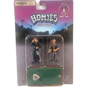 Homies Collectors Series 1/24 Scale Pool Hall Set #2 HomieShop 2004 New Sealed