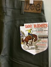 Vtg Lee Riders NOS 50s 101 Westerner Style Cowboy Deadstock 30 Pants USA Jeans