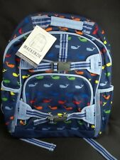 Pottery Barn Mackenzie Whales Large Backpack Blue Multi #73
