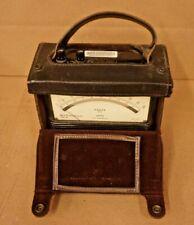 Vintage Weston Milliamperes Meter Dc Model 901 With Case