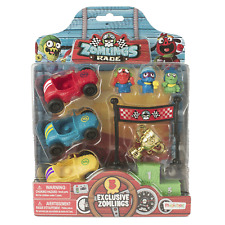 Magic Box Zomlings Series 5 Race Blister pack incl 3 exclusive zomlings + 3 cars