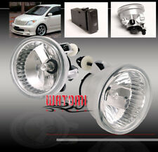 00-05 Echo/03+ Mr2 Spyder/04-09 Highlander Prius Xa Bumper Chrome Fog Light Lamp