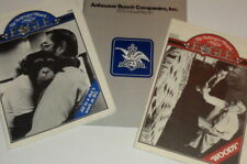 Vintage 1979-80 Anheuser-Busch Beer Corp lot, company report employee paper