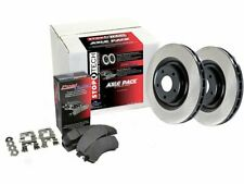 For 2010-2017 GMC Terrain Brake Pad and Rotor Kit Rear Centric 35393CZ 2011 2012