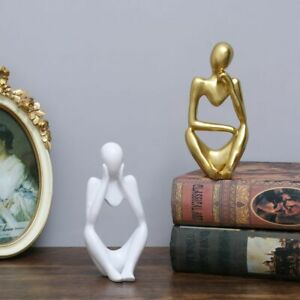 Art Sculpture Resin Figurine Resin Collectible Figurines Thinker Statue