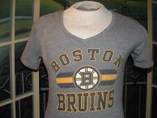 BOSTON BRUINS LADIES V-NECK TEAM T-SHIRT~LG.NHL APPAREL.>>>NICE>>>LQQK>>>