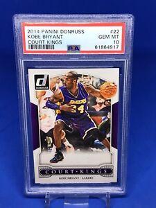 2014-15 Donruss Kobe Bryant Court Kings PSA 10 Insert SP Lakers HOT HOF