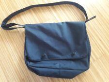 Umhängetasche schwarz, wasserabweisend, Schultasche, Laptoptasche