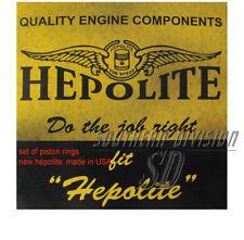 Piston anillo set Triumph BSA triple Hepolite r23020 .020 anillos de pistón t150 x75