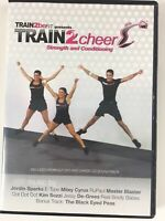 Train 2 Cheer Strength Conditioning DVD + CD Soundtrack 2011 Cardio Train2beFit