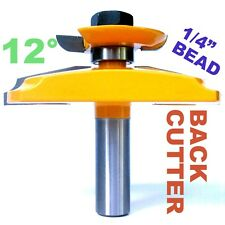 """1pc  1/2"""" SH 12° Straight Raised Panel with Back Cutter Router Bit S"""