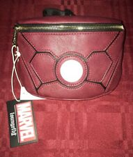 Loungefly Marvel Iron Man Fanny Pack Zip Adjustable NEW