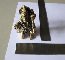 Brass Statue Lord Hanuman Hanumana 246 Gram