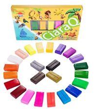 CiaraQ Nontoxic Colourful Oven Bake Polymer Modelling Clay - 24 Colours