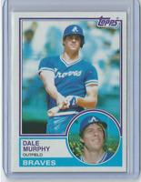1983 Topps #760 - Dale Murphy Atlanta Braves Legend - Set Break NM
