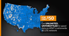 4G LTE ATT Unlimited HOTSPOT Data  $50 UNTHROTTLED NO CAPS TRUTLY UNLIMITED