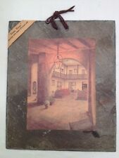 Vieux Carre' 175 Yr Old Slate Bosque Courtyard In Spain by Archie Boyd (A26)