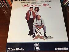 Laserdisc MEMORIES OF ME 1988 Billy Crystal Alan King JoBeth Williams LD