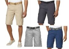 Wearfirst® Wear First Men's Cargo Short with Belt, Choose Color and Size, NWT