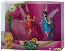 Bullyland Disney Feen (Fairies) Rosetta - Silberhauch 3-er Set Figuren 12125 NEU